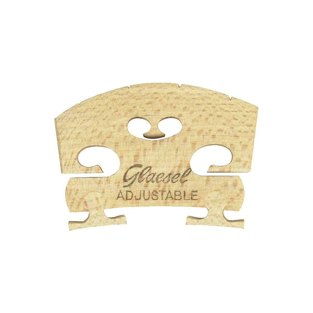 Glaesel Self-Adjusting 4/4 Violin Bridge