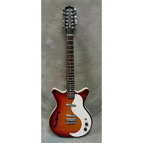 Danelectro Semi Hollow 12 String Hollow Body Electric Guitar