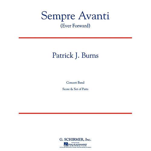 G. Schirmer Sempre Avanti Concert Band Level 4 Composed by Patrick Burns