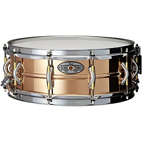 pearl sensitone phosphor bronze snare drum 14 x 5 in guitar center. Black Bedroom Furniture Sets. Home Design Ideas