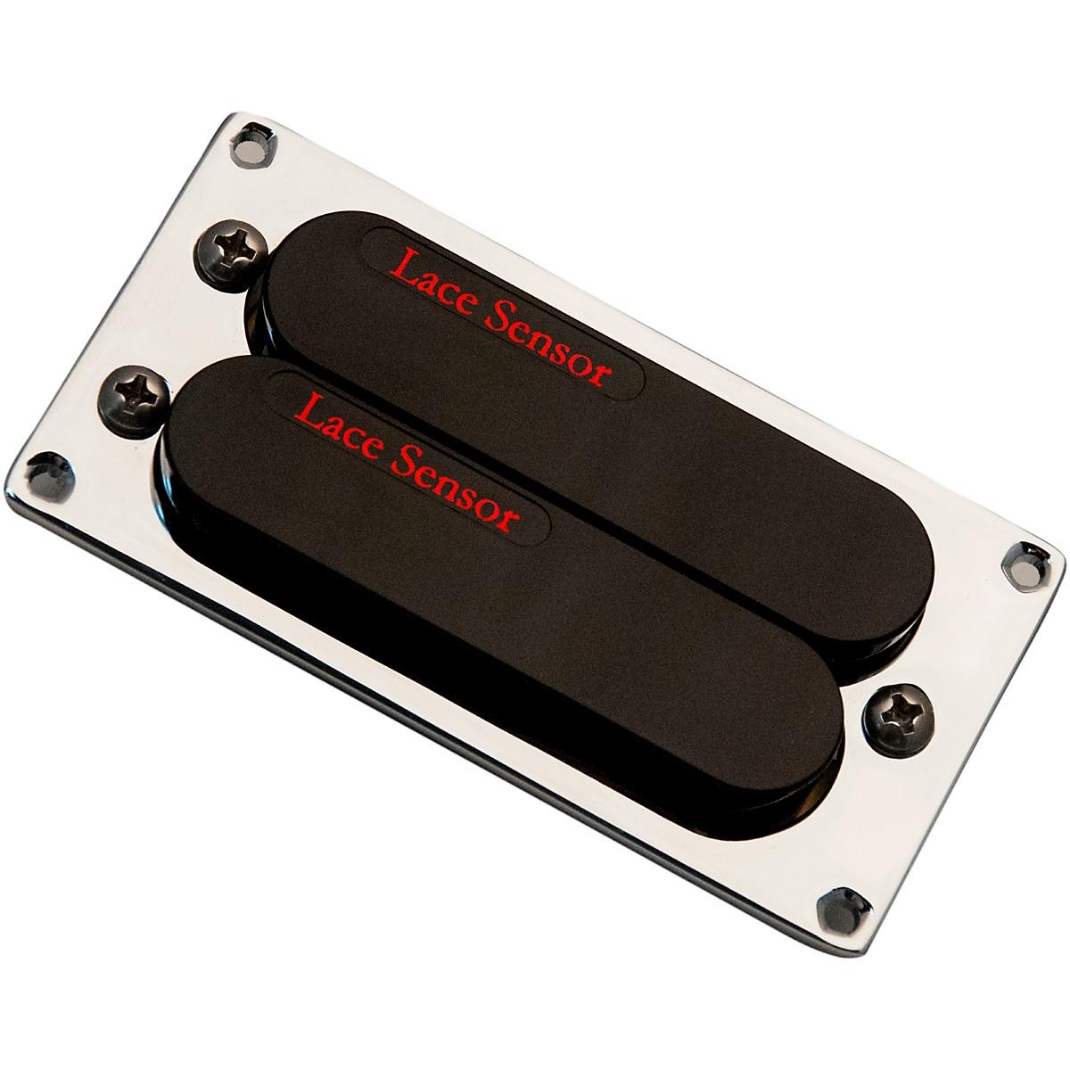 Lace Sensor Red-Red Dually T-Plus Humbucker Guitar Pickup