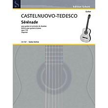 Schott Serenade in D Minor, Op. 118 (Guitar and Piano) Schott Series