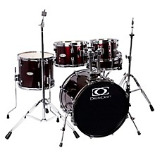 Series Three 5-Piece Fusion Drumset Wine Red