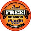 Pearl Session Studio Classic 4-Piece Shell Pack with Free 14