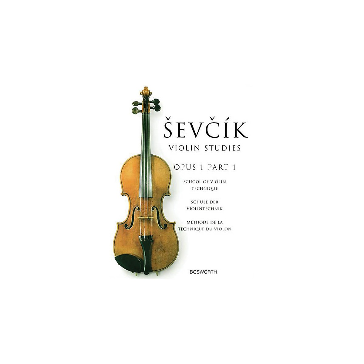 Bosworth Sevcik Violin Studies - Opus 1, Part 1 Music Sales America Series Softcover Written by Otakar Sevcik