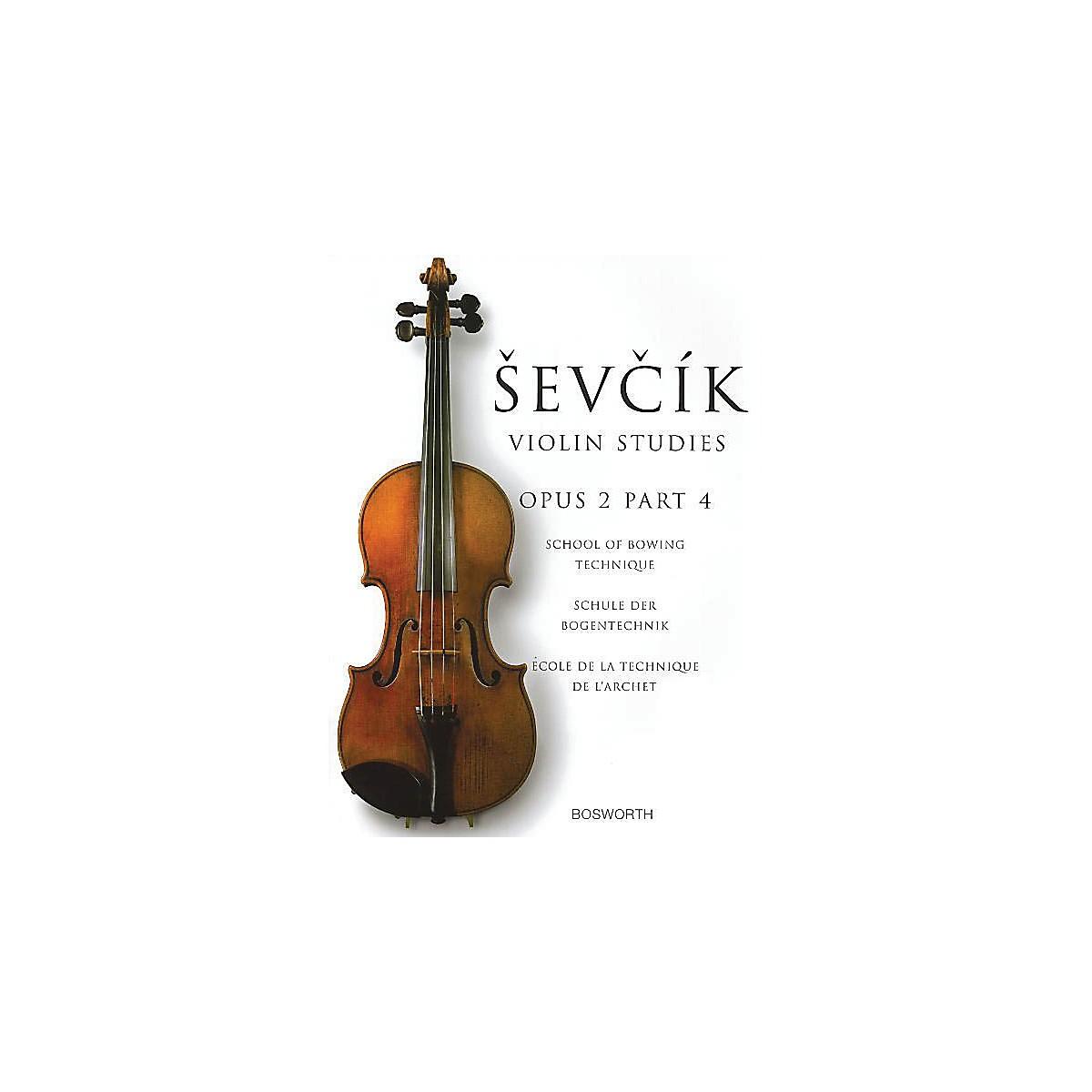 Bosworth Sevcik Violin Studies - Opus 2, Part 4 Music Sales America Series Written by Otakar Sevcik