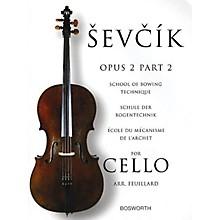 Bosworth Sevcik for Cello - Opus 2, Part 2 Music Sales America Series Written by Otakar Sevcik