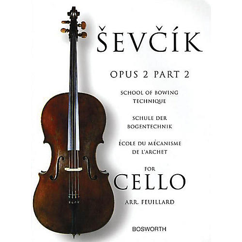 Bosworth Sevcik for Cello - Opus 2, Part 2 Music Sales America Series Written by Otakar Sevcik