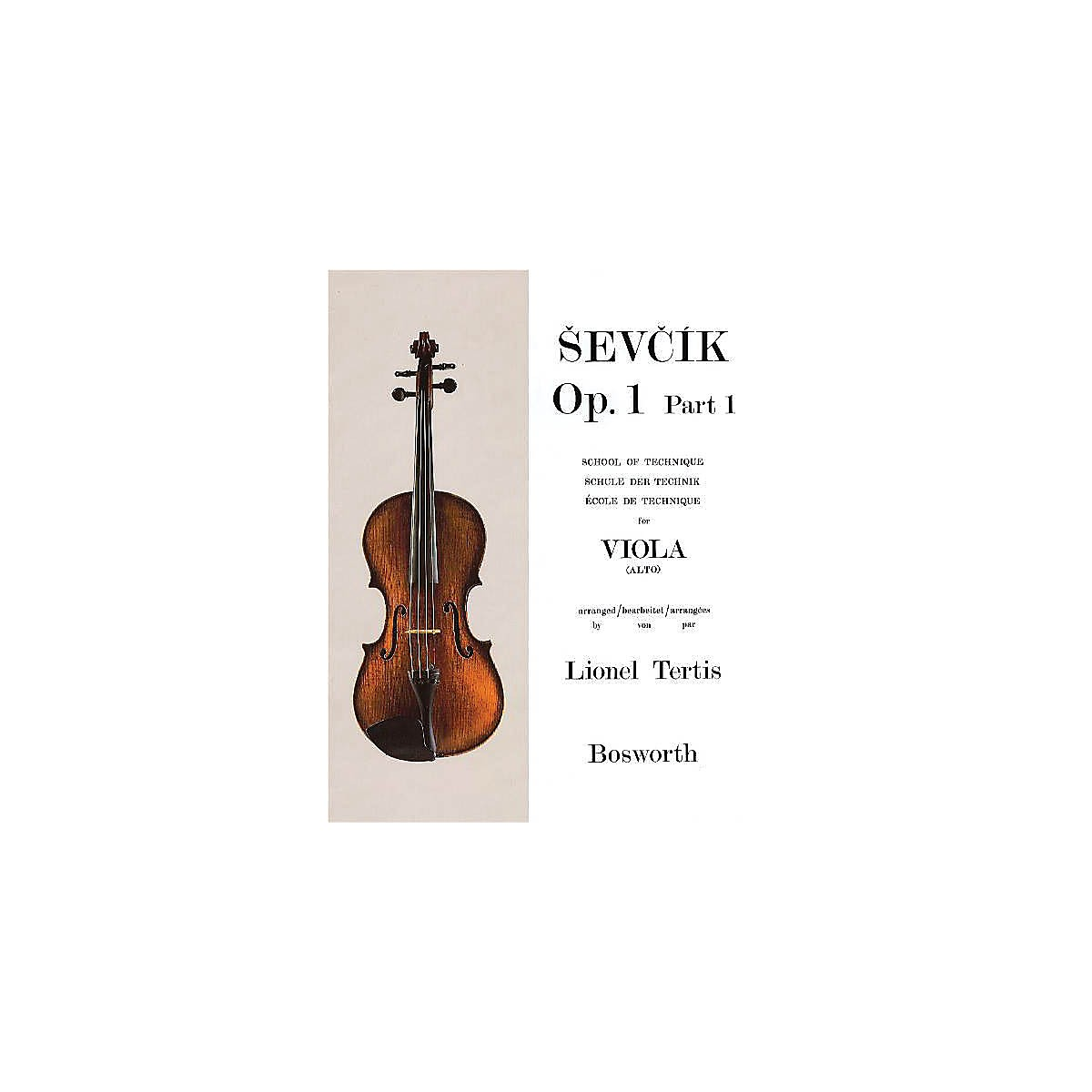 Bosworth Sevcik for Viola - Opus 1, Part 1 (School of Technique) Music Sales America Series by Otakar Sevcik