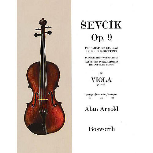 Bosworth Sevcik for Viola - Opus 9 Music Sales America Series Softcover Written by Otakar Sevcik