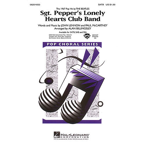 Hal Leonard Sgt. Pepper's Lonely Hearts Club Band Combo Parts by The Beatles Arranged by Alan Billingsley