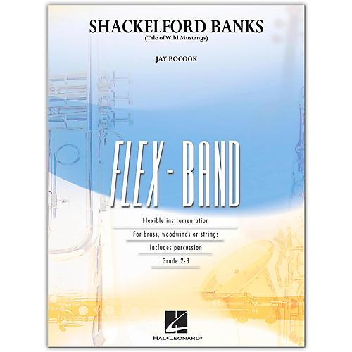 Hal Leonard Shackelford Banks Tale Of Wild Mustangs FlexBand Level 2-3