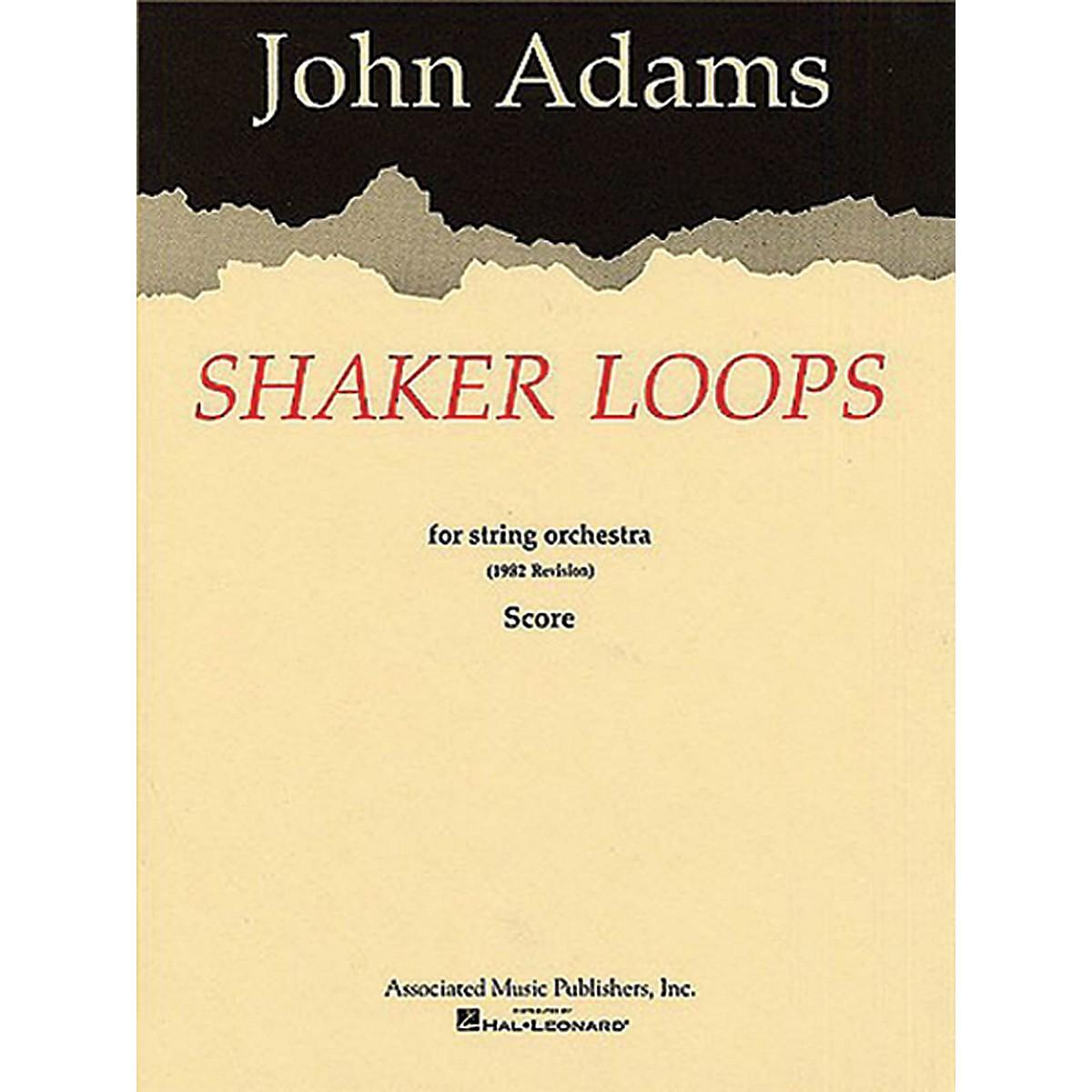 Associated Shaker Loops (revised) (Full Score) Study Score Series Composed by John Adams