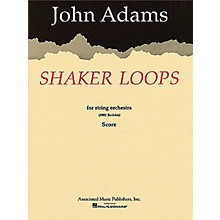 Associated Shaker Loops (revised) (Full Score) Study Score Series Composed by John Adams