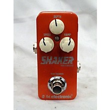 TC Electronic Shaker Mini Vibrato Effect Pedal