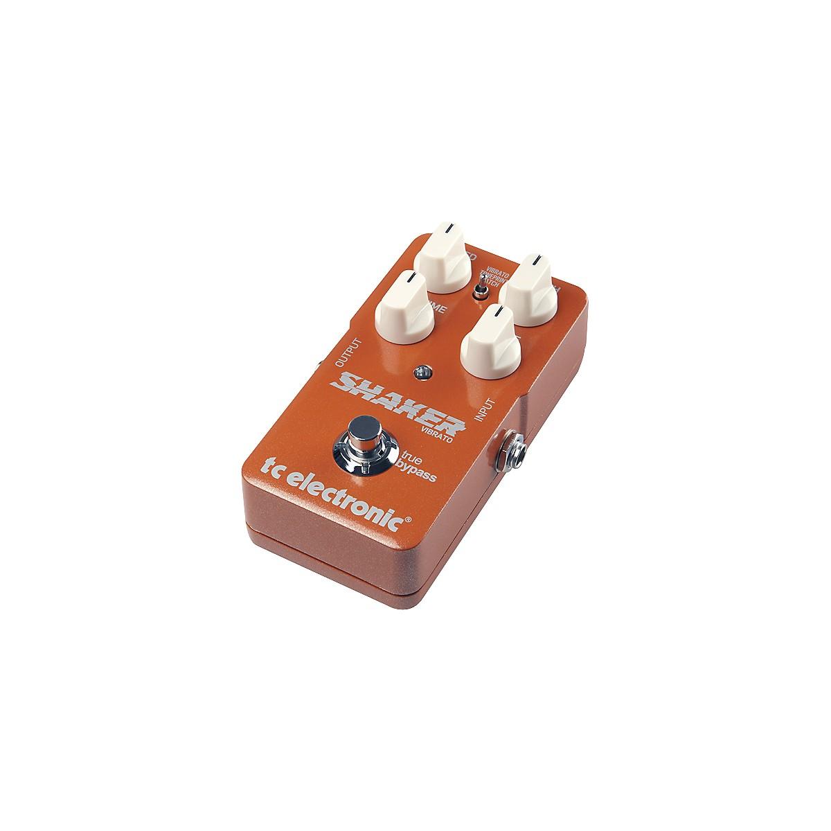 TC Electronic Shaker Vibrato TonePrint Series Guitar Effects Pedal