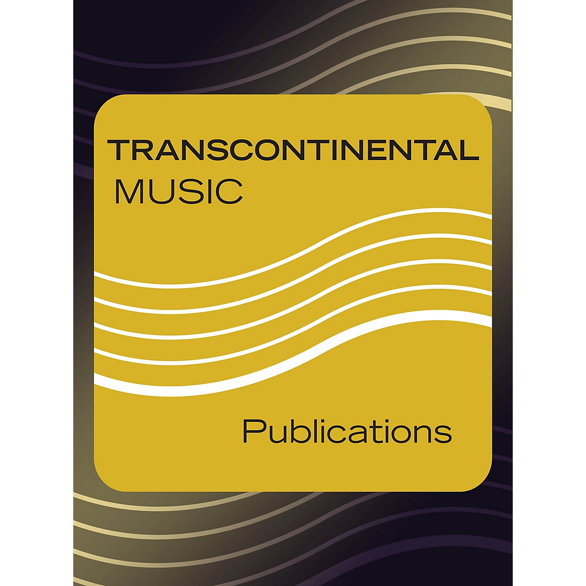 Transcontinental Music Shalom Ba'olam SATB Chorus and Solo Composed by Jacob Goldstein