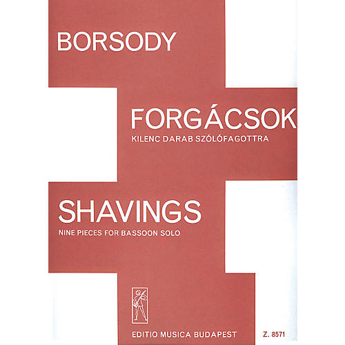 Editio Musica Budapest Shavings EMB Series