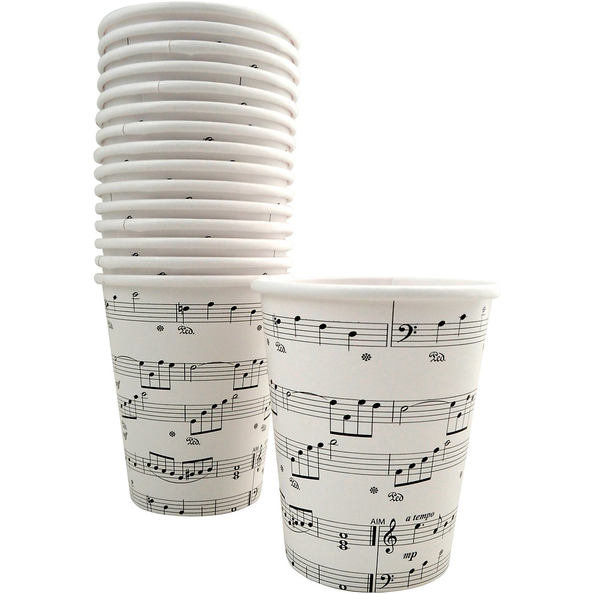 AIM Sheet Music Paper Cups 9oz
