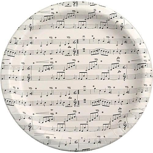 AIM Sheet Music Paper Plates
