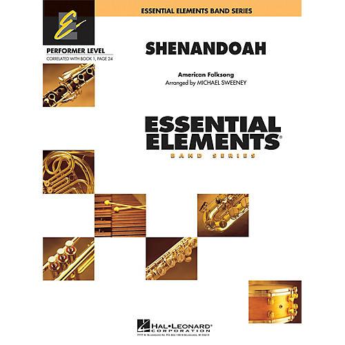 Hal Leonard Shenandoah Concert Band Level .5 to 1 Arranged by Michael Sweeney