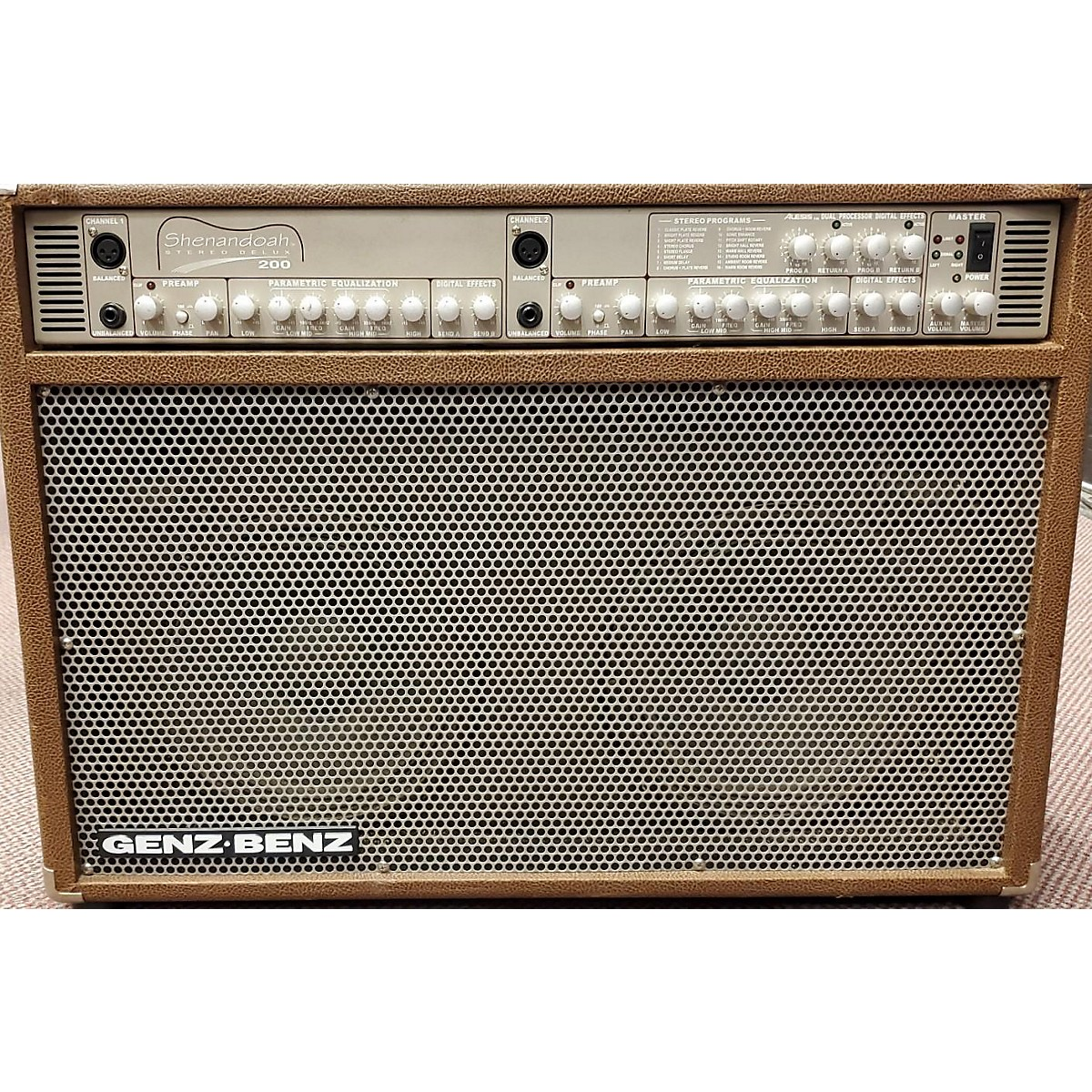 Genz Benz Shenandoah Stereo Deluxe 200 Acoustic Guitar Combo Amp