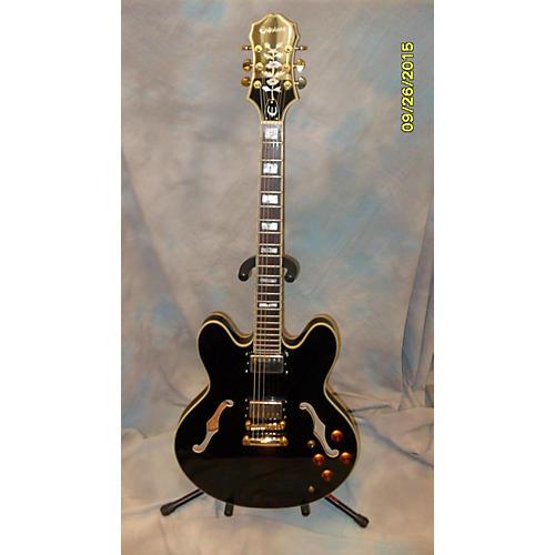 Epiphone Sheraton II Ebony Hollow Body Electric Guitar