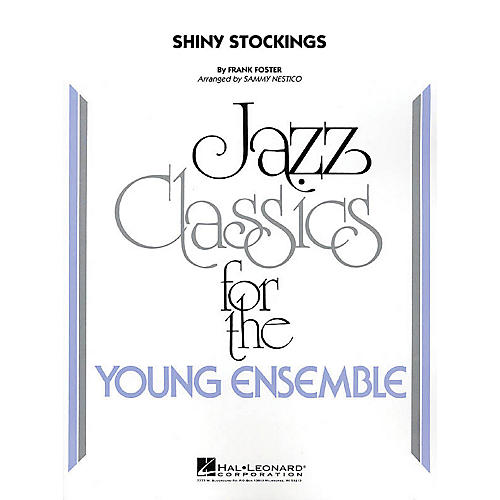 Hal Leonard Shiny Stockings Jazz Band Level 3 Arranged by Sammy Nestico