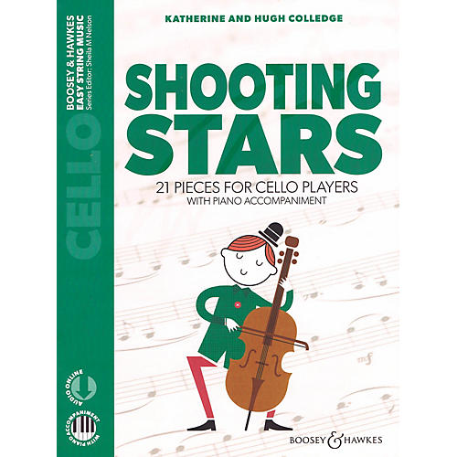 Boosey and Hawkes Shooting Stars 21 Pieces for Cello Players Cello with Piano Accompaniment Book/Audio Online