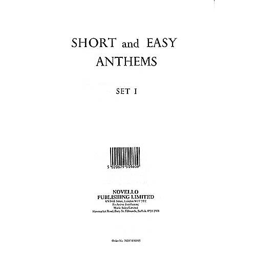 Novello Short and Easy Anthems - Set 1 SATB