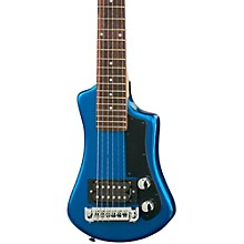 Shorty Electric Travel Guitar Blue