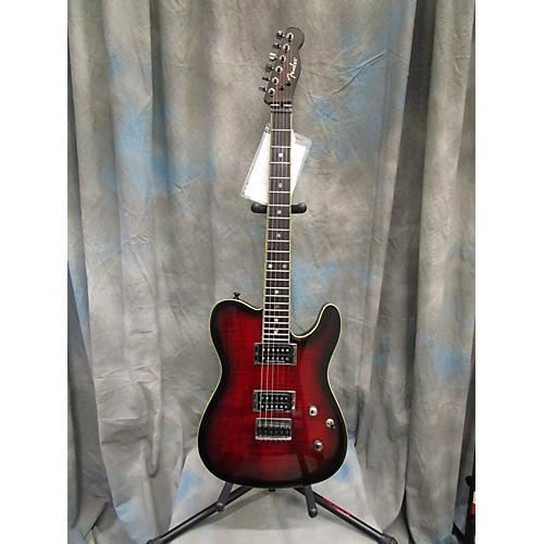 Fender Showmaster FMT Dark Cherry Burst Solid Body Electric Guitar
