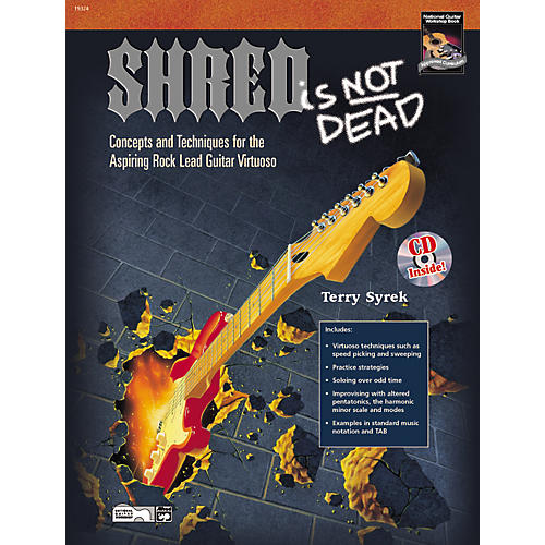 Alfred Shred Is Not Dead - Guitar Book and DVD