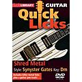 Licklibrary Shred Metal - Quick Licks (Style: Synyster Gates; Key: Dm) Lick Library Series DVD Written by Andy James thumbnail