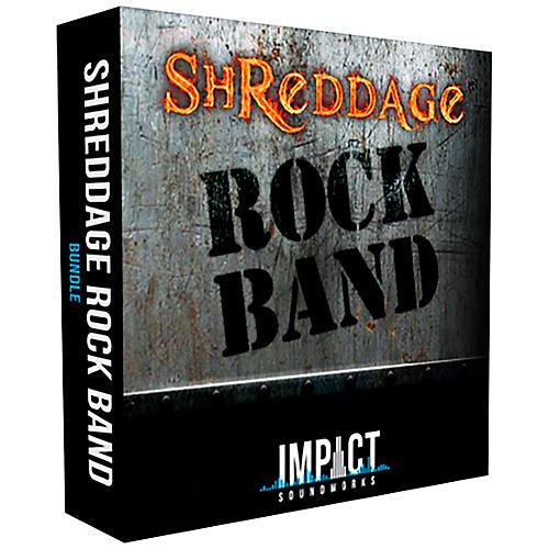 Impact Soundworks Shreddage 3 Rock Band (Download)