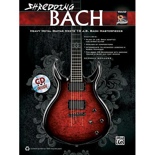 Alfred Shredding Bach Book/CD