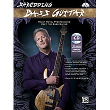 Alfred Shredding Bass Guitar: Heavy Metal Pyrotechnics Meet the Bass Guitar Book & CD