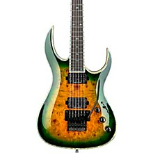 Shredzilla Prophecy Archtop with Floyd Rose Electric Guitar Reptile Eye