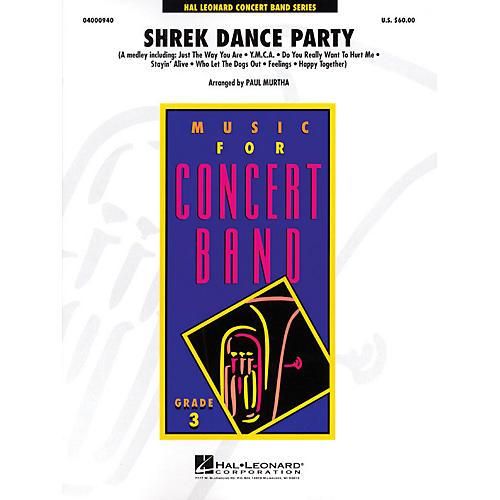 Hal Leonard Shrek Dance Party - Young Concert Band Level 3 by Paul Murtha