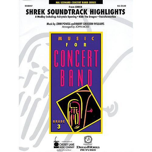 Cherry Lane Shrek Soundtrack Highlights - Young Concert Band Level 3 by John Moss