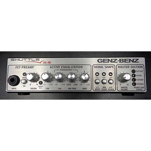 Genz Benz Shuttle 3.0 Bass Amp Head