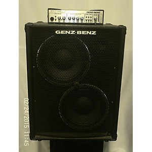 Click here to buy Pre-owned Genz Benz Shuttle 6.0 600 Watt with STL 6.0 - 210T Bass Combo Amp by Genz Benz.