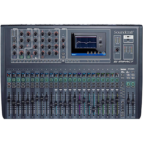 Soundcraft Si Impact 32-Channel Digital Mixer