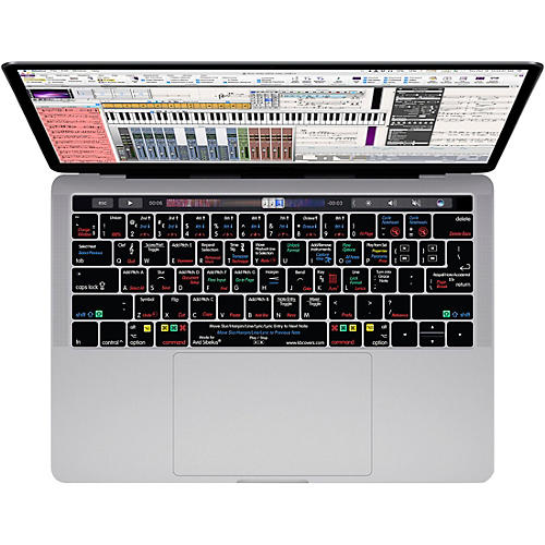KB Covers Sibelius Keyboard Cover for MacBook Pro (Late 2016+) with Touch Bar