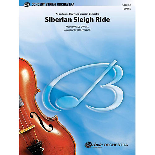 Alfred Siberian Sleigh Ride String Orchestra Grade 3