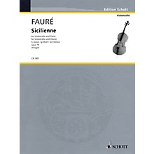 Schott Sicilienne Op. 78 in G minor (for Cello and Piano) String Series