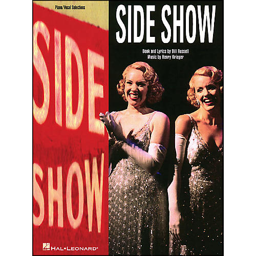 Hal Leonard Side Show Vocal Selections arranged for piano, vocal, and guitar (P/V/G)