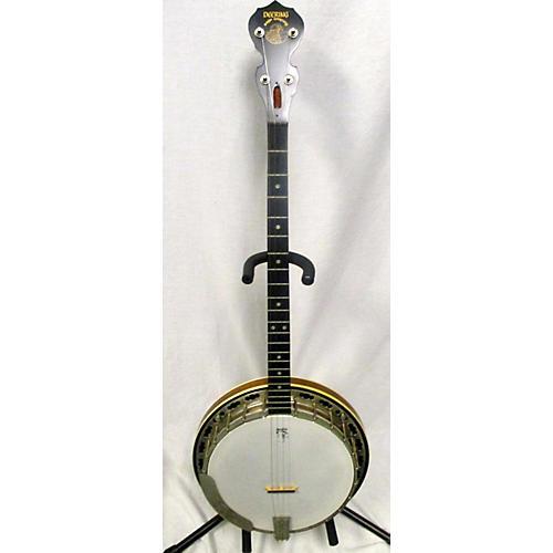 used deering sierra plectrum banjo natural guitar center. Black Bedroom Furniture Sets. Home Design Ideas