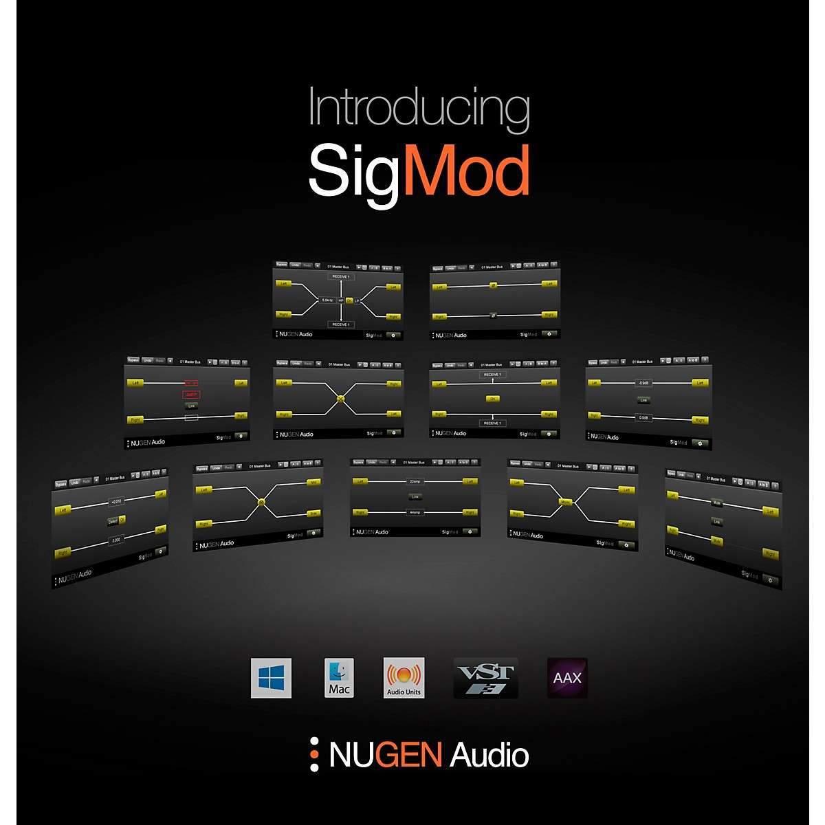NuGen Audio SigMod Signal Modification Plug-in Modules