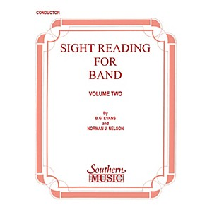 Southern Sight Reading for Band, Book 2 Oboe Southern Music Series by Bil... by Southern